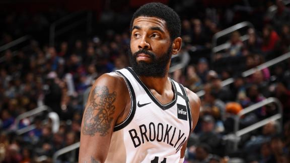 Kyrie drops 45 in Nets' OT win