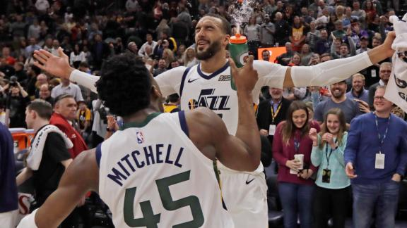 Mitchell, Gobert lead Jazz past Mavs late for big win
