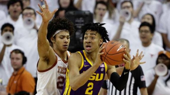 LSU holds off Texas to earn eighth consecutive win