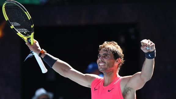 Nadal beats countryman Carreno Busta in straight sets