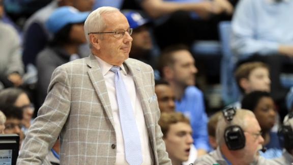 Williams passes Dean Smith on wins list as UNC snaps 5-game skid