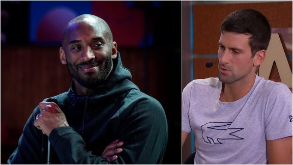 Djokovic: Kobe was a mentor to me