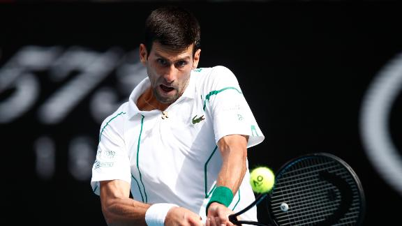 Djokovic cruises to straight-sets victory