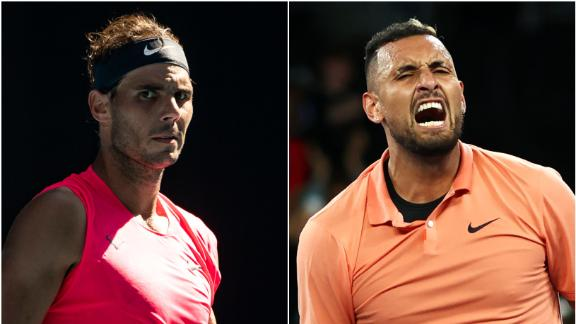 Can Kyrgios overcome Nadal?