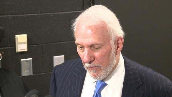 Popovich: 'There are no words ...'