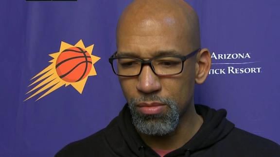Monty Williams speechless about Bryant's death