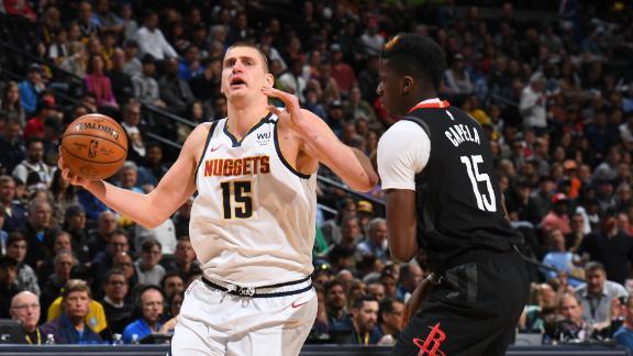 Jokic's triple-double leads Nuggets past Rockets