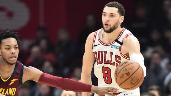 LaVine scores 44 points in Bulls' win