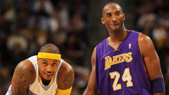 Melo's relationship with Kobe went beyond basketball
