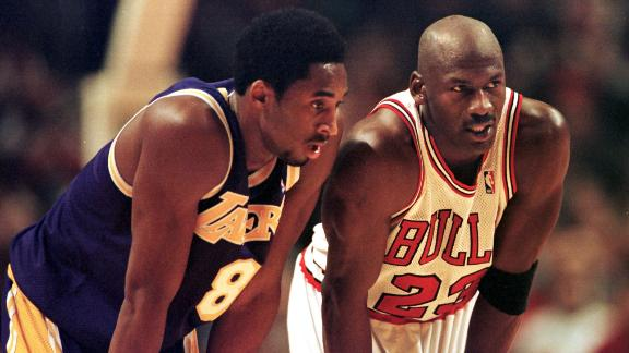 Kobe always embraced playing against Jordan
