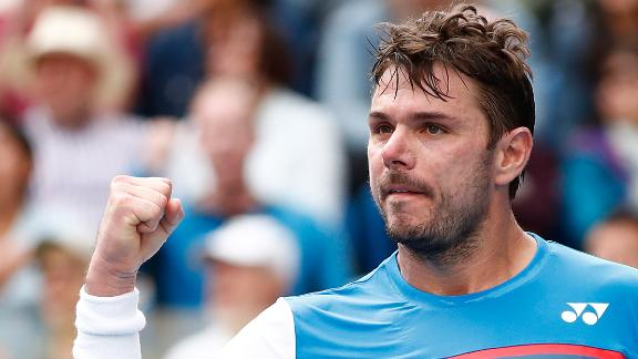 Wawrinka beats Medvedev in 5 set thriller