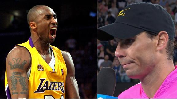 Nadal: Kobe was one of the greatest sportsmen in history