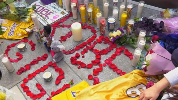 Los Angeles mourns the death of Kobe Bryant