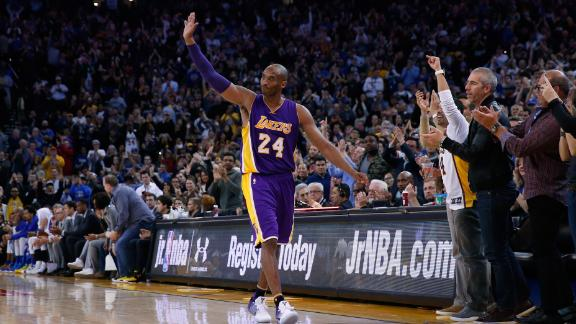 Staley: I knew Kobe would be something great