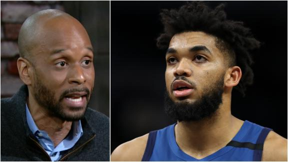 Bomani not absolving Towns of blame for Timberwolves' struggles