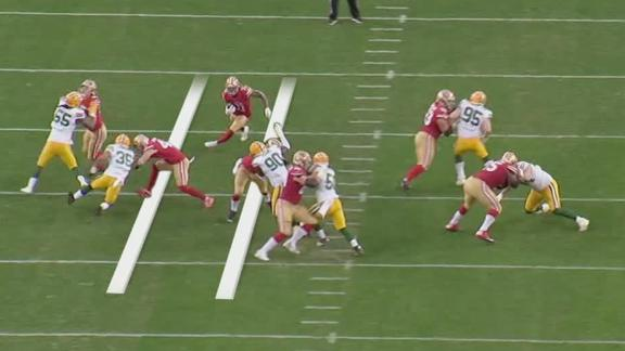 Manning shows how 49ers used Packers sweep
