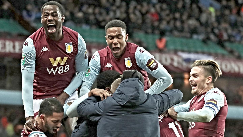 Injury time winner sends Aston Villa to Carabao Cup final