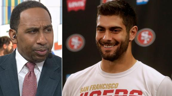 Stephen A.: I'm leaning towards 49ers in the Super Bowl
