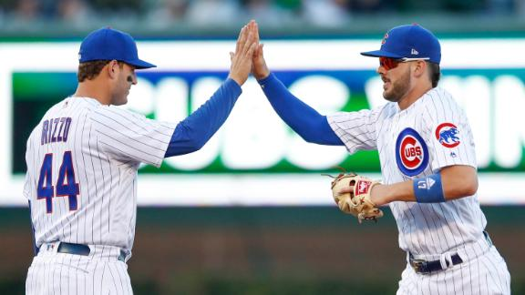 What's the best thing about playing with Kris Bryant?