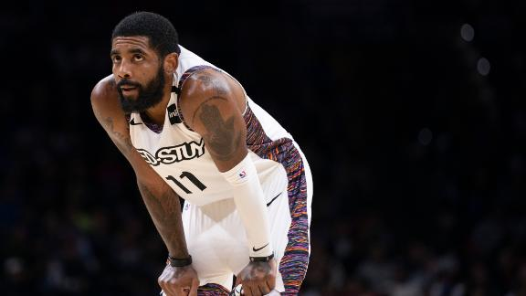 Up and down moments from Kyrie's first season in Brooklyn