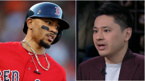 Does Betts to the Dodgers make sense?