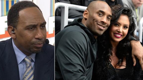 Stephen A. applauds Vanessa Bryant's strength for making statement