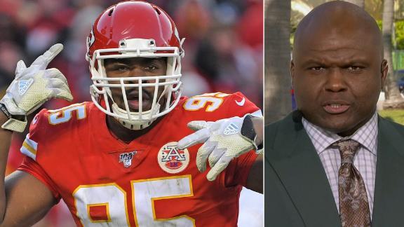 McFarland: Jones, Clark key for Chiefs to stop 49ers' run game