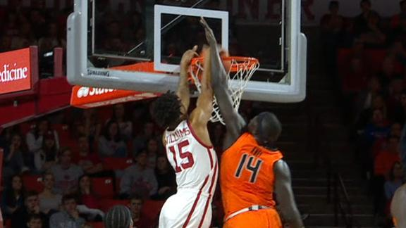 Oklahoma has a dunk contest vs. Oklahoma State