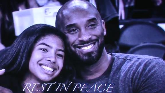 Kings display video tribute for Kobe, crash victims