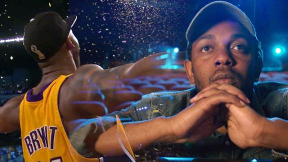 Kendrick Lamar remembers Kobe