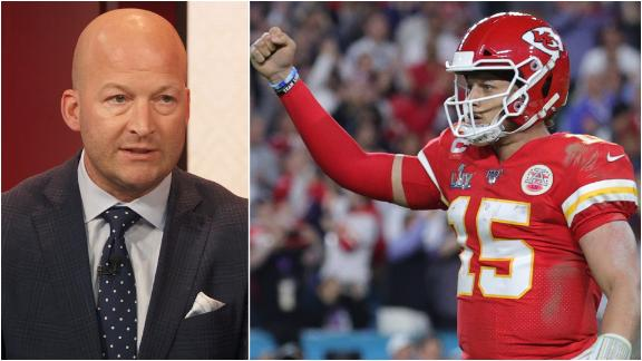 Hasselbeck: Mahomes kept game alive with running not throwing