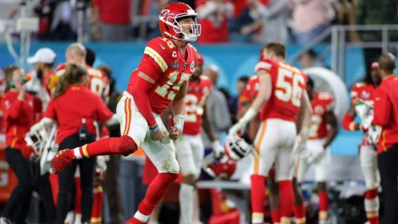 Chiefs rally to beat 49ers for first Super Bowl title since 1970