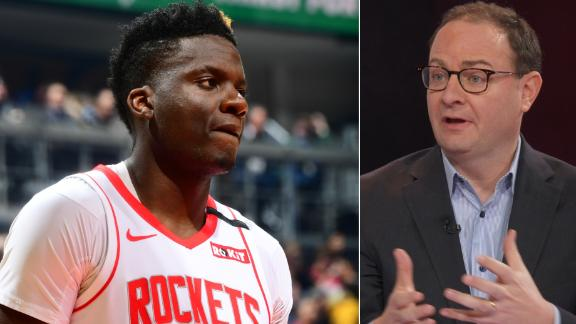 Rockets interested in trading Capela for draft assets