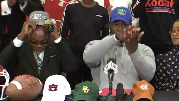 Umanmielen gator chomps after committing to Florida