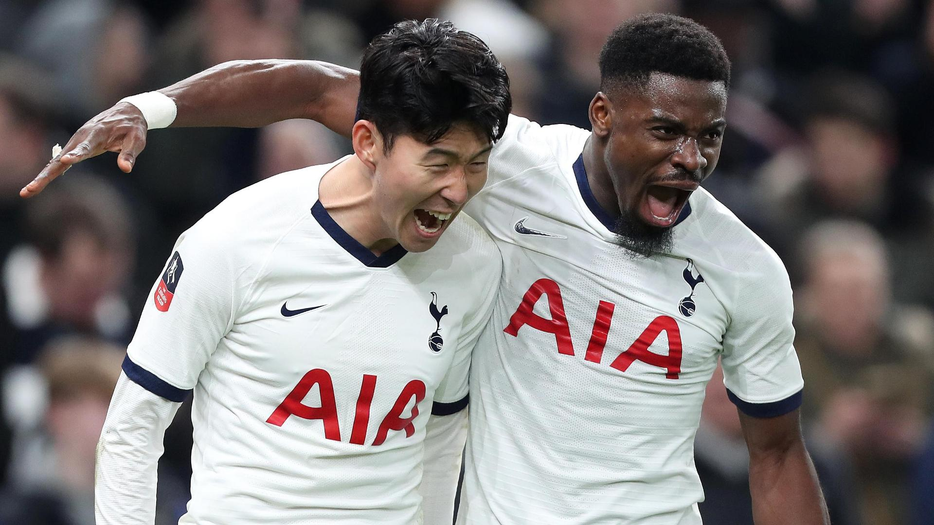 Son Heung-Min's penalty moves Spurs in front