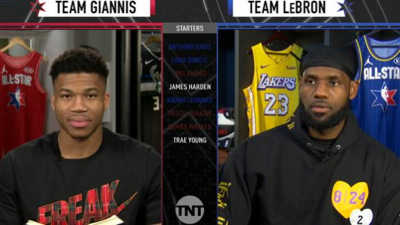 LeBron, Giannis select All-Star reserves