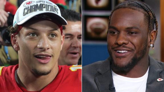 Chiefs, Clark not worried about Mahomes' contract extension