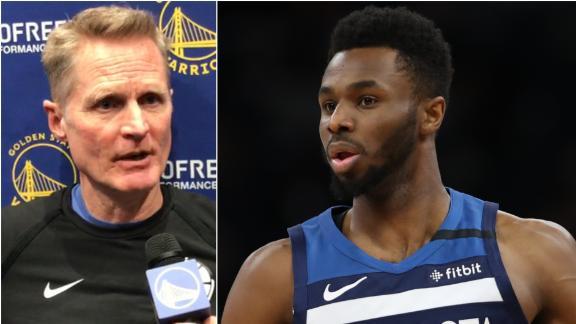 Kerr addresses Wiggins fit vs. Russell on Warriors