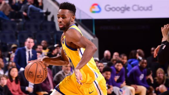 Wiggins drops 24 in Warriors' debut