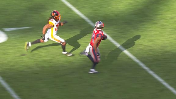 Roughnecks strike early as Phillips scores a 50-yard TD
