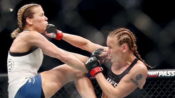 Shevchenko lands massive head kick to Chookagian