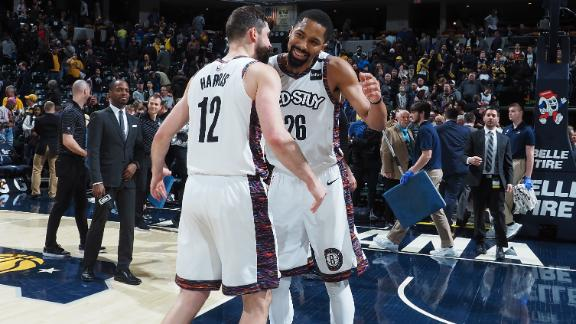 Dinwiddie's jumper ends Nets and Pacers back-and-forth affair