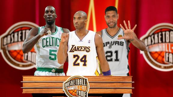 Kobe, KG and Duncan: HOF-defining moments