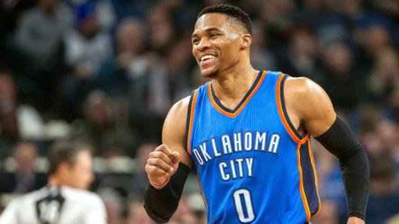 Flashback: The best of Westbrook's MVP season in OKC