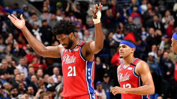 Embiid backs up his boasts with his game