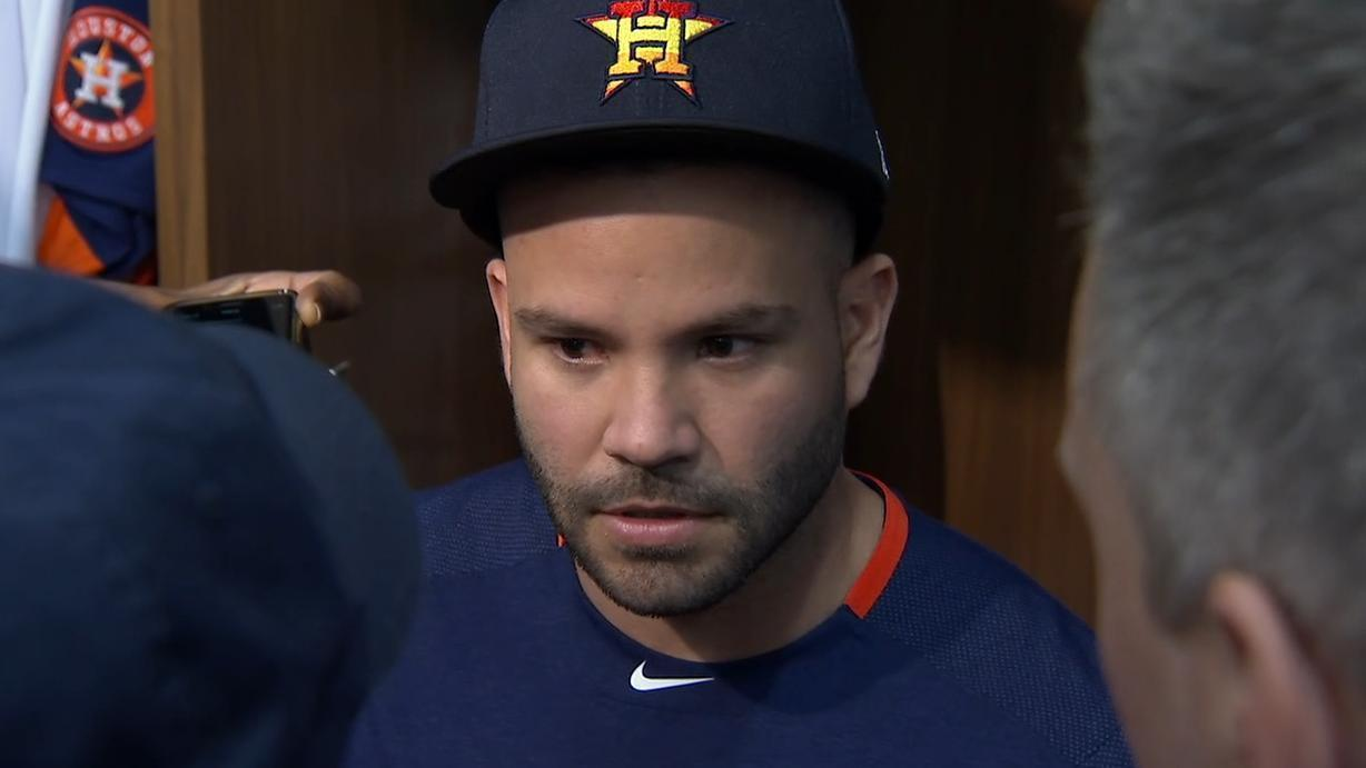 Altuve addresses Astros' buzzer conspiracy