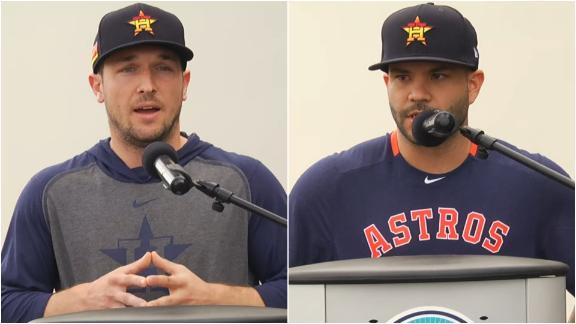 Astros address sign-stealing scandal