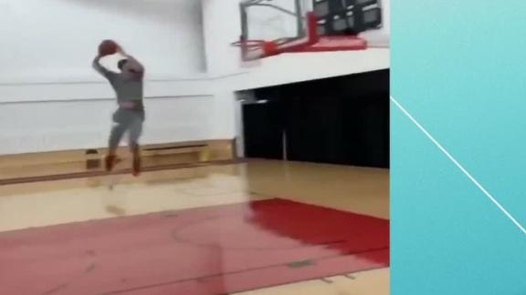 Imagine if Zach LaVine hit this in the dunk contest