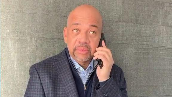 Michael Wilbon in awe finding out he won Curt Gowdy Media Award