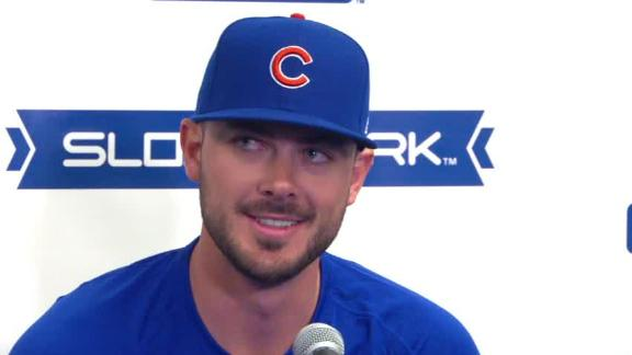 Kris Bryant trying to tune out trade rumors